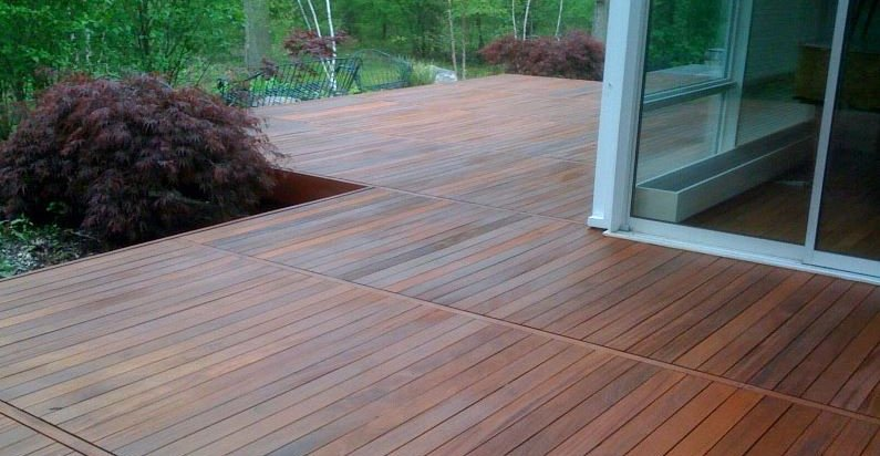 Build a deck in the garden