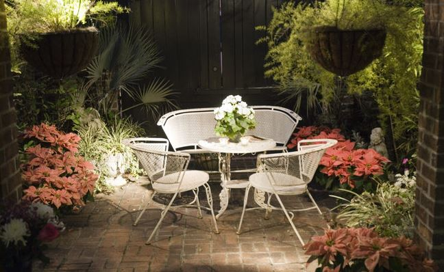 personalized outdoor space